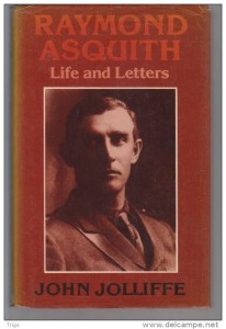 Raymond Asquith letters