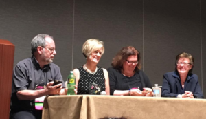 RWA panel w/ ML Buchman, Brenda Novak & HelenKay Dimon
